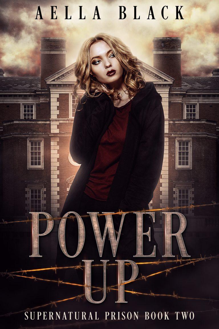 Aella Black - power up cover